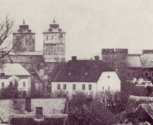 Domkyrkans torn innan Helgo Zettervalls ombyggnad