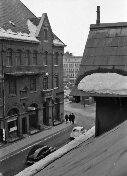 1963 Fr Apoteket Svanen mot Stortorget