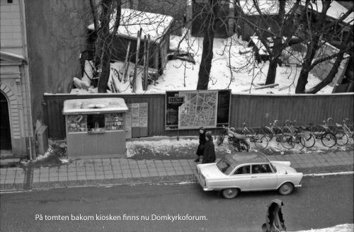 1963 Kiosken vid Domkyrkan