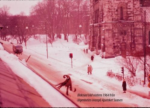 1964 Domkyrkan vinter