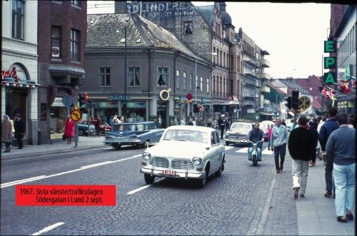 1967 Vänstertrafik Sista dagen Söderg b