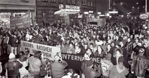 Här stoppades nazisterna 1991