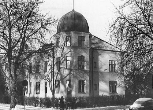 Fjelievägen 14 / Bälgen 9, byggt 1913, rivet 1980