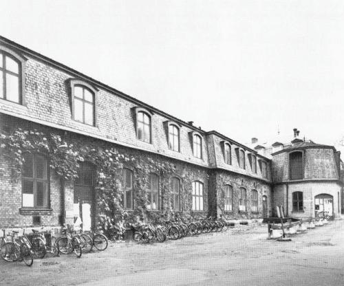 Gamla tvätten, byggt 1901, revs 1983