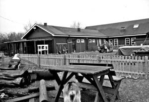 Gåsatoftens bygglek, riven 2009.