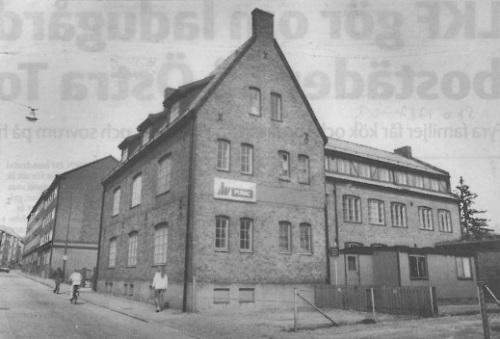 Skofabriken, Bankgatan 15, revs 1984