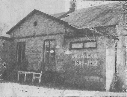 Villa Eka, Trollebergsvägen, byggt 1889, revs 1982