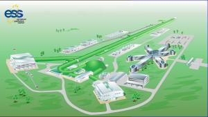 ESS Scandinavias första illustration av projektet
