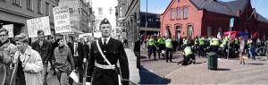Antifascism 1968 och 2014.